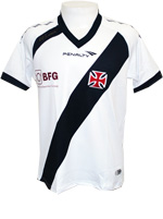 Camisa de Jogo 1 Vasco Penalty 2013/2014 Branca
