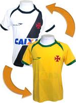 Camisa Revers�vel Vasco / Brasil 2014 Penalty