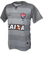 Camisa de Goleiro 3 Vitória 2017 Topper Cinza S/N