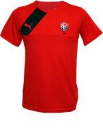 Camisa Concentração Vitória 2015 Puma Vermelha
