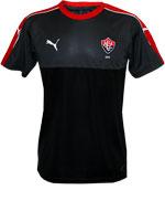 Camisa Concentração Vitória 2016 Preto e Cinza