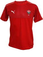 Camisa Concentração Vitória 2016 Puma Vermelha