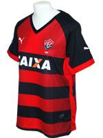 Camisa Feminina Vitória 2014 Puma Listrada