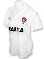 Camisa Feminina Vitória Puma 2016 Branca