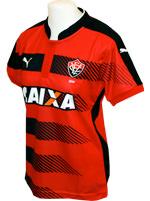 Camisa Feminina Vitória Puma 2016 Listrada