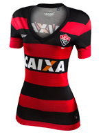 Camisa Jogo 1 Feminina Vitória Topper 2017 List