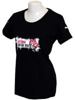 Camisa Feminina Vitória Risk Puma Preta