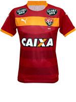 Camisa Goleiro Vitória 2015 Puma Vinho