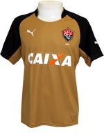 Camisa Goleiro Vit�ria 2014 Puma Dourada