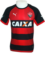 Camisa Juvenil Vitória 2014 Puma Listrada