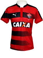 Camisa Juvenil Vitória 2016 Puma Listrada