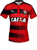 Camisa Jogo 1 Vitória Puma 2016 Listrada