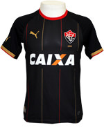 Camisa Jogo 3 Vit�ria Puma 2014 Preta