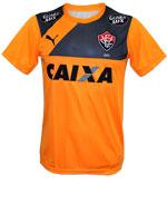 Camisa Treino Vitória 2015 Puma Laranja