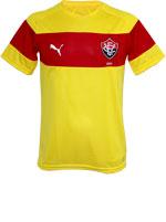 Camisa Treino Vitória 2016 Puma Amarela